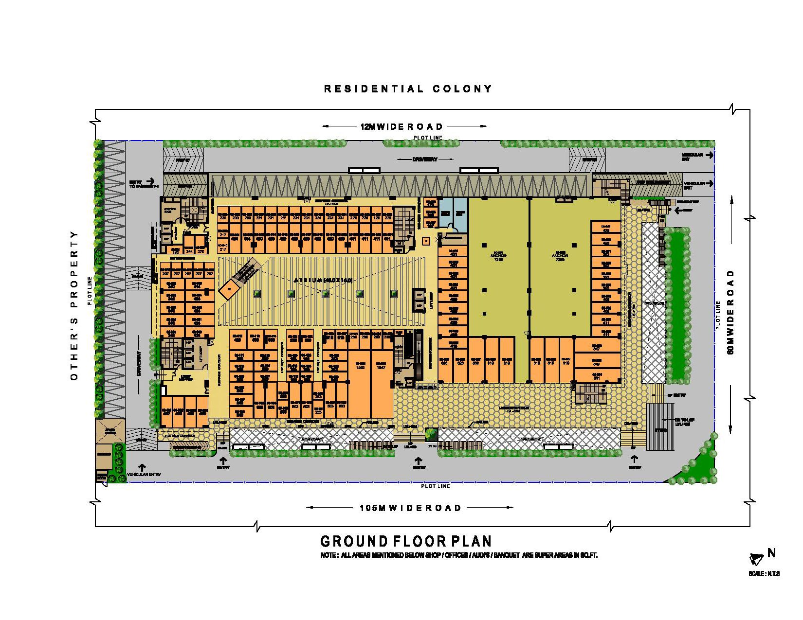 ithum galleria ground floor plan