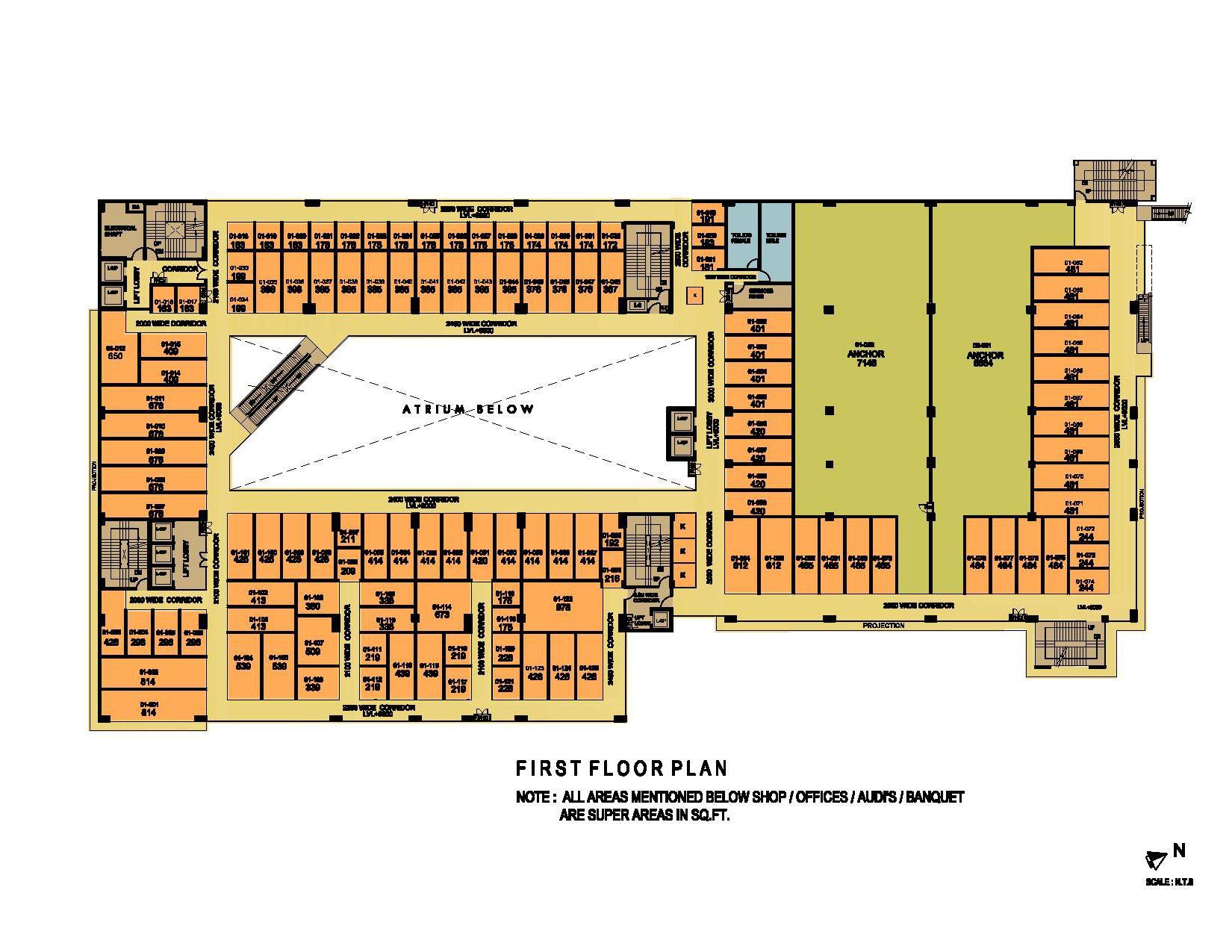 ithum galleria first floor plan