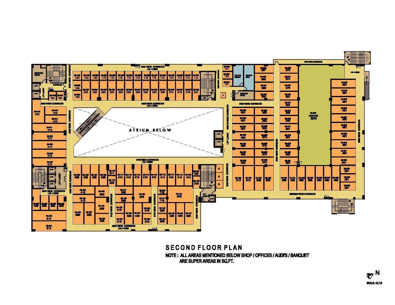 ithum galleria second floor plan